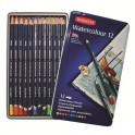 Набор карандашей акварельных Derwent WaterColour 12цв метал кор D-32881