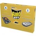 Средства от насекомых RAID МАX Приманка для тараканов 4+1