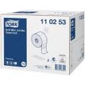 Бумага туалетная Tork Premium 2сл.мини T2 110253/120243 12р/уп. 850л