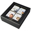Подарочный набор чая Newby Дикая жизнь четыре банки-мини 145 г