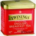 Чай Twinings English Breakfast Tea листовой черн.100г ж/б