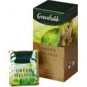 Чай Greenfield Green Melissa зеленый фольгир.25пак/уп