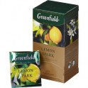 Чай Greenfield Lemon Spark черный фольгир.25пак/уп