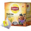 Чай Lipton Blueberry Muffin черный байховый пирамидки,20пак/уп