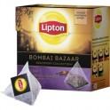 Чай Lipton Bombay Bazaar черный пирамидки,20пак/уп