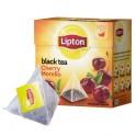 Чай Lipton Cherry Morello черный пирамидки 20пак/уп