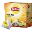 Чай Lipton Citrus черный пирамидки 20пак/пач