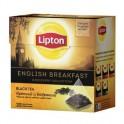 Чай Lipton English Breakfast черный, 20 пакетиков