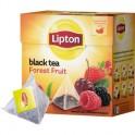 Чай Lipton Forest Fruit черн.пирамидки 20 пак/уп