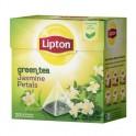 Чай Lipton Green Jasmine зеленый, 20 пакетиков