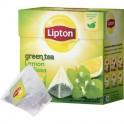 Чай Lipton Green Lemon Melissa зеленый пирамидки 20пак/уп