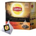 Чай Lipton Orange Jaipur черн.пирамидки 20 пак/уп