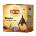 Чай Lipton Pear Chocolat черный, 20 пакетиков