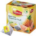 Чай Lipton Tropical Fruit черн.пирамидки 20 пак/уп