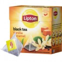 Чай Lipton Vanilla Caramel чер.пирамидки 20пак/уп