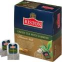 Чай Riston Green Tea with Jasmine зеленый с жасмином,100 пак/уп