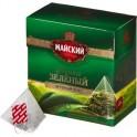Чай зеленый Майский Элитный пирамидки 20пак*1,8г