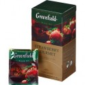 Чай черный Greenfield Strawberry gourmet 1,5г*25пак