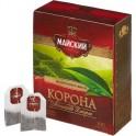 Чай черный Майский Корона Российской Империи 100пак*2г
