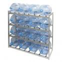 Метал.Мебель KD_Бомис-16Р стеллаж для воды бутилир. на 16 тар