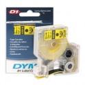 Картридж к этикет-принтеру DYMO S0720580 D1 12ммх7м чер/жел пл. для LM210D/PnP