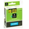 Картридж к этикет-принтеру DYMO S0720980 D1 24ммх7м чер/жел пл. для LM500PTS