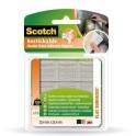Клейкая лента монтажные квадраты 3M SCOTCH R100, 25х25мм, удаляемые