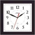 Часы Apeyron PL 02.002 чёрные, квадратные,пластик