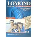 Бумага для фото 10*15 20л 260г/м2 LOMOND полуглянцевая 1103302