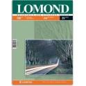 Бумага для фото А4 25л 130г/м2 LOMOND двусторонняя матовая 0102039