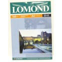 Бумага для фото А4 25л 160г/м2 LOMOND матовая 0102031