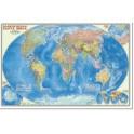 Карта Мира политическая М1:25млн 124*80 ГЕОДОМ 643