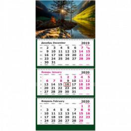Календарь 3-блочный на 2 года 2019-2020