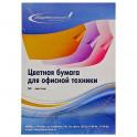 Бумага для ОфТех Набор цветной бумаги (желтая пастель), 80гр, А4, 50 листов УДП