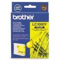 Картридж струйный Brother LC1000Y жел. для DCP130C/330С