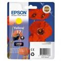 Картридж струйный Epson 17 C13T17044A10 жел. для XP-33/103/203/303/406