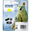 Картридж струйный Epson 26 C13T26144010 жел. для XP600/700/800