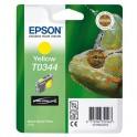 Картридж струйный Epson T0344 C13T03444010 жел. для St Photo 2100