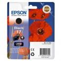 Картридж струйный Epson 17 C13T17014A10 чер. для XP-33/103/203/303/406