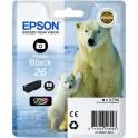 Картридж струйный Epson 26 C13T26114010 чер. фото для XP600/700/800