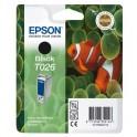 Картридж струйный Epson T026 C13T02640110 чер. для St Photo 810/925