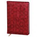 Ежедневник недат,140х200,96л.,бордовый,Granada