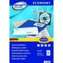 Этикетки самоклеящиеся Europe, ELA001, 38х21,2мм/65шт на листеА4 (100лист/уп)