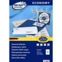 Этикетки самоклеящиеся Europe, ELA021, 105х48мм/12шт на листеА4 (100лист/уп)