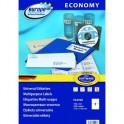 Этикетки самоклеящиеся Europe, ELA026, 210х148мм/2шт на листеА4 (100лист/уп)