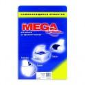 Этикетки самоклеящиеся MEGA LABEL 210х148 мм / 2 шт. на листе А4 (25 листов/уп.)