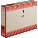 Папка архивная ATTACHE 75мм,картон,красная