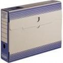 Папка архивная ATTACHE 75мм,картон,синяя